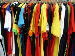 торговлю одеждой